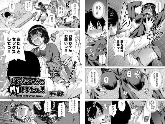【エロ漫画】それでいいのか!?Myしすたぁ!!【単話】のアイキャッチ画像